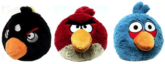 angry birds poppen