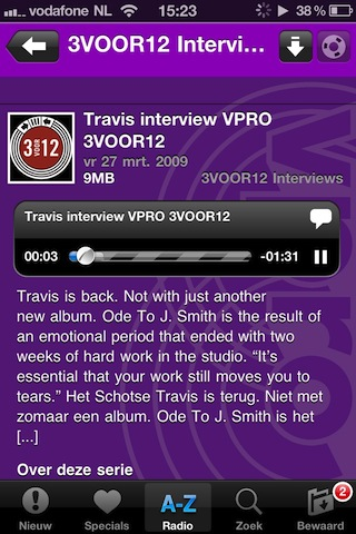 VPRO Radio Gemist