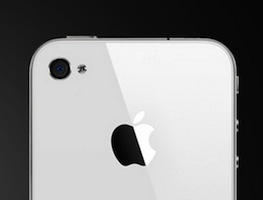 Camera witte iPhone 4