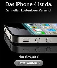 iphone 4 duitsland