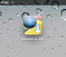 chrome to ios