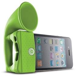 bone horn green