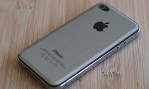 iphone metaal achterklep
