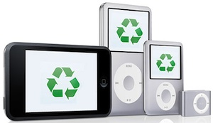 ipods recycling