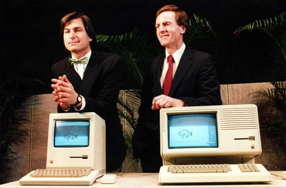 Steve Jobs & John Sculley