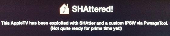Apple TV SHAttered