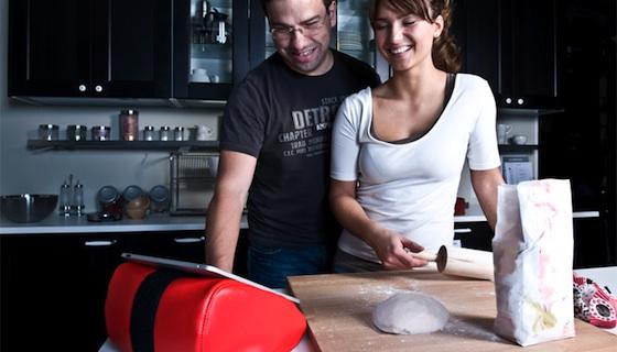 Boonbag zitzak voor tablets zoals de ipad for Keuken ontwerpen op ipad