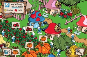 aankopen smurfs village