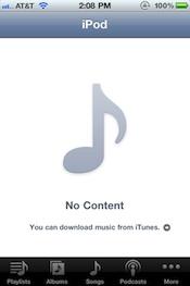 ios muziekbug