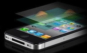 touchscreen iphone scherm