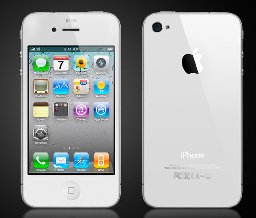 Witte-iPhone-4