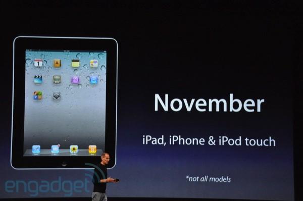 iOS 4.2 in november