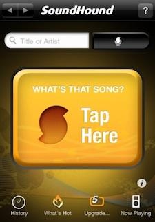 soundhound iphone