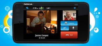 skype nokia n900