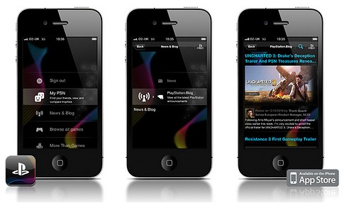 iphone playstation app