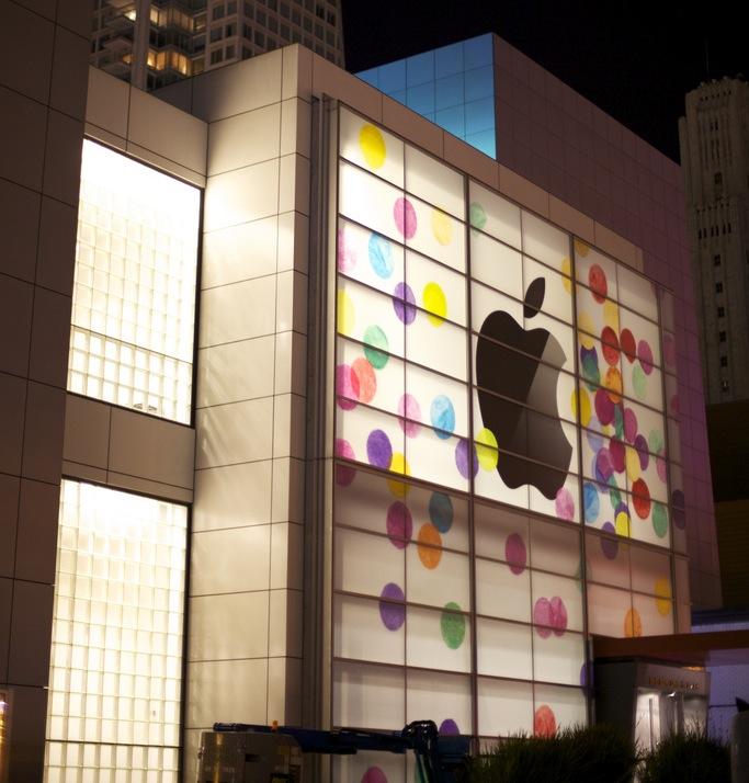 iPad 2-event - banner op YBC