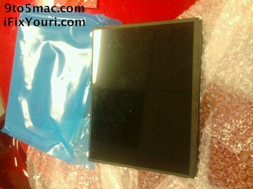 Scherm nieuwe iPad?