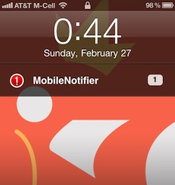 mobilenotifier