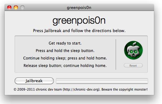 greenpois0n RC5 jailbreak