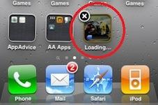 App-downloads annuleren in iOS 4.3