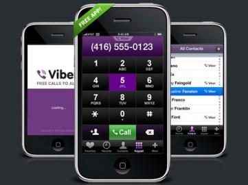 Viber iPhone app nu ook voor Android