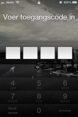 keypad transparancy