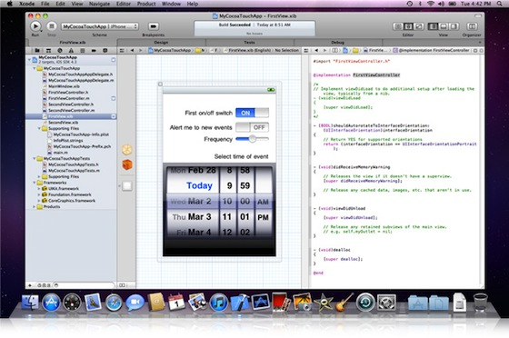 xcode 4 software