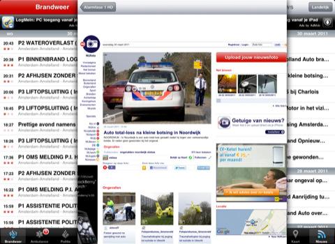Alarmfase 1 HD voor iPad nieuws van NU