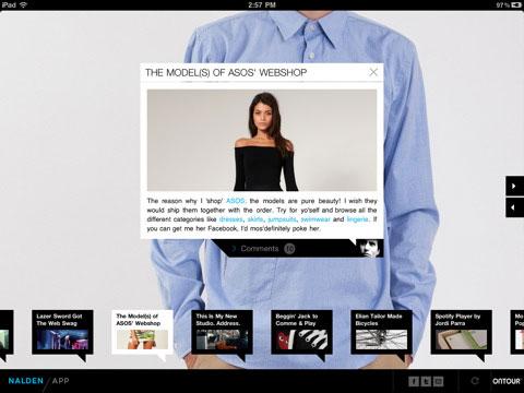 Nalden voor iPad nieuwslayout