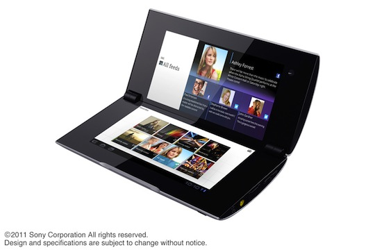 Sony S2 opklapbare tablet