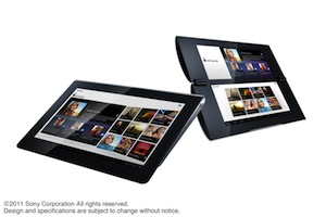 Sony presenteert iPad-concurrenten S1 en S2