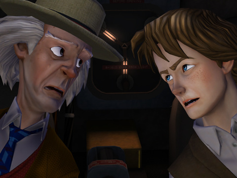 Back to the Future Ep 2 HD voor iPad Marty en Doc