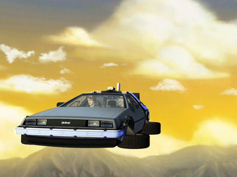 Back to the Future Ep 2 HD voor iPad GMC