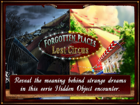 Forgotten Places Lost Circus HD voor iPad