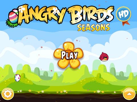 Angry Birds paasupdate voor iPad