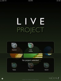 live project viewer