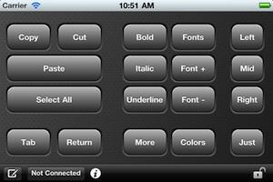 custom keypad iphone