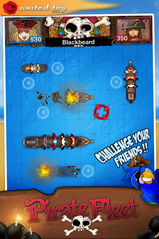 GU PirateFleet for Friends voor iPhone en iPod touch