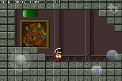 Super Mario voor de iPhone