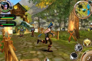 Order and Chaos Online voor iPhone strijder
