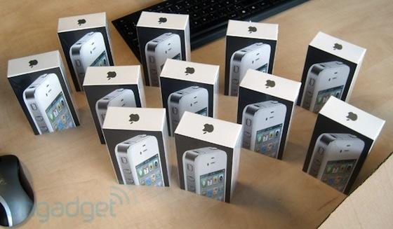 Verpakking iPhone 4 wit