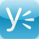 Yammer voor iPhone en iPod touch logo