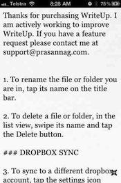 writeup iphone
