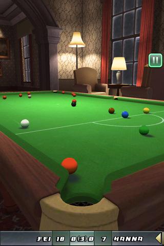 GU Snooker Club voor iPhone en iPod touch