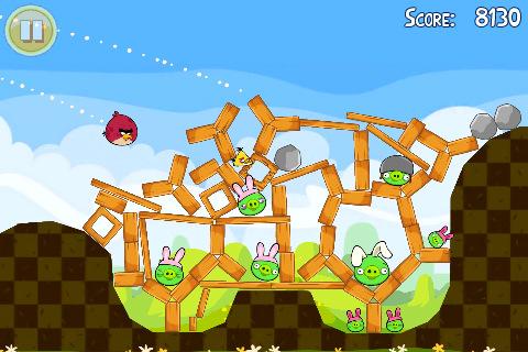 Angry Birds Seasons Easter voor iPhone