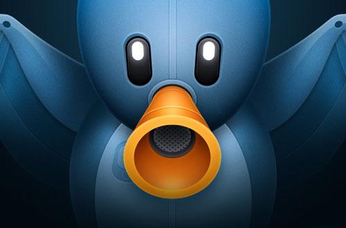 Tweetbot voor iPhone icoon