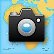 iTravelPhoto voor de iPhone icoon