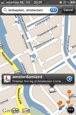 maps plus tweet