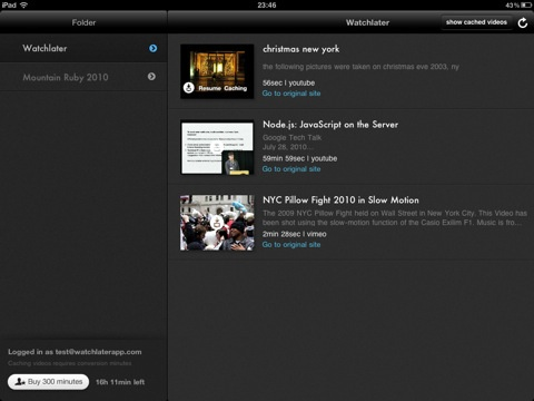watchlaterapp ipad