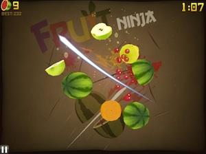 fruit ninja ipad